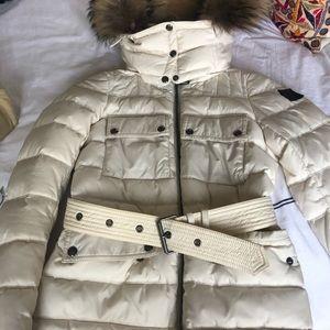 Belstaff ski/ winter jacket with fur hood